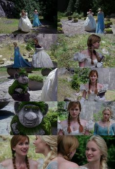 """4x01 """"A Tale of Two Sisters""""  Screencaps. GrandPabby's animation was so good!"""