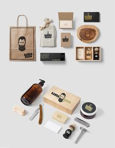 55 Dapper Branding Design Projects for Barber Shops