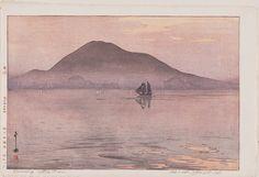 Hiroshi Yoshida (1876-1950). Evening after Rain (Ugo no yûbe) 1926 | Museum of Fine Arts, Boston