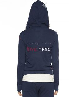 Peace Love World Clothing | Worry Less Love More Love2Love Light Zip Hoodie…