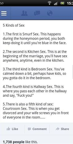 5 Kinds of Sex!!
