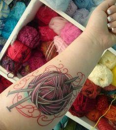 Knit tattoo.