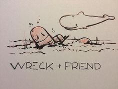#inktober #inktober2016 #wreck #friend #doublefeature  #whale #submarine