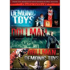 Demonic Toys/Dollman/Dollman vs. Demonic Toys (Triple Feature)  so stupid it's hilarious... the baby doll has a mouth like a trucker! My kinda doll. Hahah
