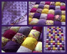 Puff quilts on pinterest puff quilt baby puffs and puffy quilt