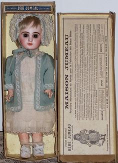 "14"" Tete Jumeau in Original Box - Antique Doll SOLD from Faraway Antique Shop. www.faraway.rubylane.com"
