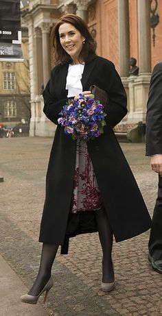 HRH Mary, Crown Princess of Denmark, Countess of Monpezat