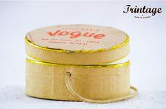 """""""Com o perfume e variedade de cheiros se deleita o coração"""" … Caixa de perfumaria Vogue!"""