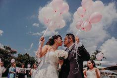 Globos para la boda  Bodas.com.mx  Dupioni Wedding Studio  #wedding #bodas #ideasboda