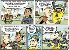 Cartoon: Maybe let's stop killing black kids?