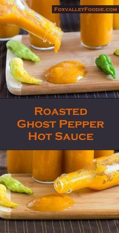 Roasted Ghost Pepper Hot Sauce