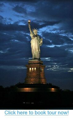 Statue of Liberty – New York City #nyc #tours #bus_tours