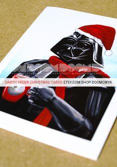 @Cassie Baluh Darth Vader Christmas Card