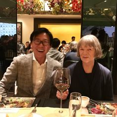 """5 Likes, 1 Comments - William Lim (@williamlimcl3) on Instagram: """"Wonderful meeting the legendary #photographer #candidahofer at the amazing #kukjegallery #dinner…"""""""