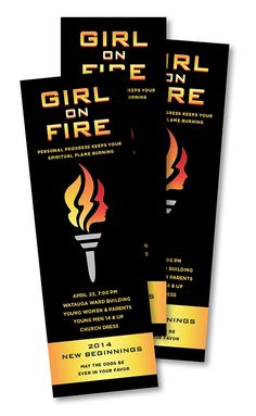 YW New Beginnings Idea: Girl on Fire  A Thousand Phases