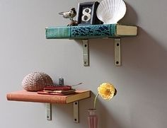 4. Book Shelves - 15 Simple but Awesome DIY Shelf Ideas ... → Lifestyle