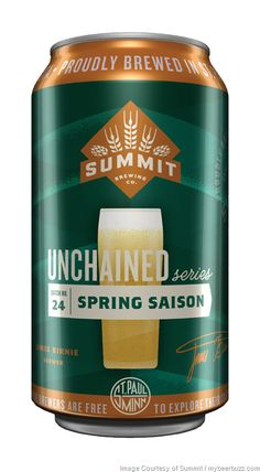 mybeerbuzz.com - Bringing Good Beers & Good People Together...: Summit Brewing Releasing Unchained 24: Spring Sais...