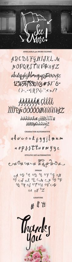 Swirlesque Typeface