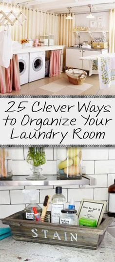 Laundry room organization, how to organize laundry rooms, small space organization, popular pin, laundry room, DIY laundry room projects, home decor, easy home decor.