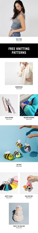 Free knitting patterns! #knitting #patterns