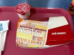 Red Rooster.  Australia's Roy Rogers (chicken joint).