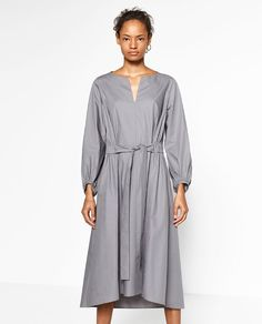 Image 2 of OVERSIZED DRESS from Zara