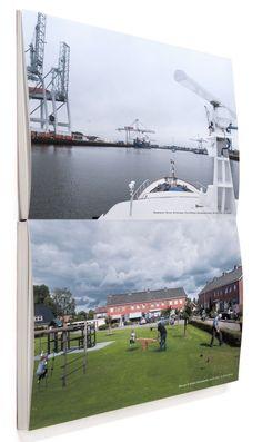 De Prins Willem Alexanderhaven in Rotterdam. De enige 'weg' zonder mensen die 'in de weg' stonden.