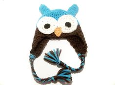 Adorable owl hat!