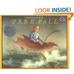Amazon.com: Free Fall (9780688109905): David Wiesner: wordless book