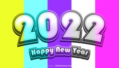 Free New Year Card 2022 Graphic
