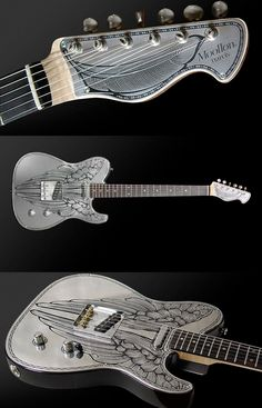 """Moollon guitar - Narcis NC """"Fledge S.S."""" More at: http://www.moollon.com"""