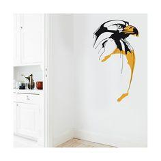 Original diseño de águila para vinilos decorativos / Original design of eagle to decorative vinyls