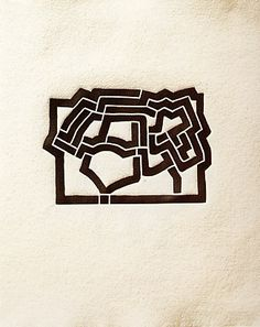 Eduardo Chillida (1924-2002), from Más Allá (with Jorge Guillén), 1973. Woodcut. Plate size: 13.1cm H x 18.9cm W. Sheet size: 37.8cm H x 32cm W. Edition of 230 copies.