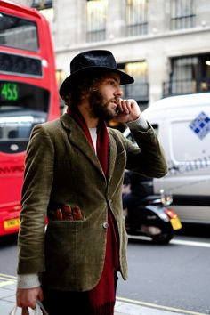 http://chicerman.com  1000yardstyle:  Mens street style London  #menscasual
