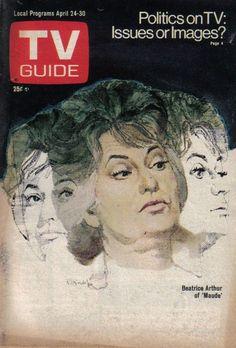 TV Guide April 24 1976 Beatrice Arthur Maude...