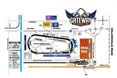 Gateway Motorsports circuit 2015 race series racing news event schedule illinois 2017 email facebook NHRA