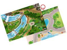 LEGO® Friends Heartlake City & Jungle Playmat