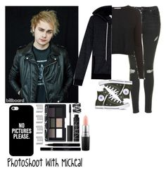 """""""Photoshoot with Micheal"""" by looking-at-the-clouds ❤ liked on Polyvore featuring Topshop, Converse, Autumn Cashmere, Splendid, NARS Cosmetics, Sisley, MAC Cosmetics, Maison Margiela, Eva Fehren and Casetify"""