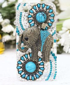 Bling iphone 5c case elephant iPhone5 case iphone by luckyshop2014, $25.99