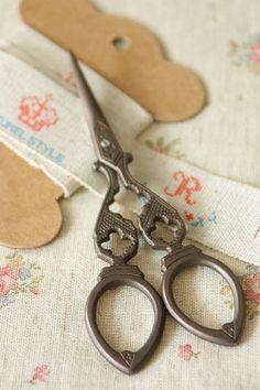 beautiful old scissors