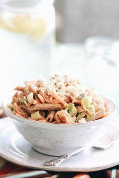 Mango Chicken And Blue Cheese Quinoa Salad Recipe — Dishmaps