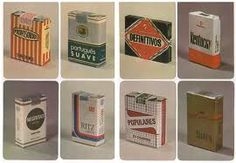 Remembering old portuguese brands of cigarrettes.