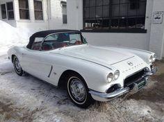 1962 Chevrolet Corvette Conv,327/300hp, 4 Spd