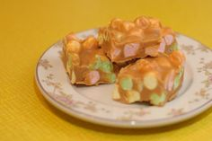 Peanut Butter Marshmallow Squares -  my favourites