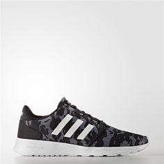 5b7afc44d35b Adidas Cloudfoam QT Racer Shoes (Core Black   Running White   Black) Adidas  Cloudfoam