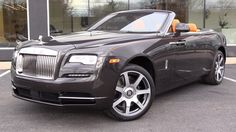 2016 Rolls-Royce Dawn Start Up, Exhaust, and In Depth Review