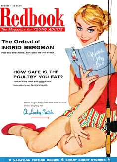 Redbook, August 1956. (Cover art by Lucia Larner)