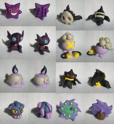 Ghostly Pokemon by Foureyedalien on DeviantArt