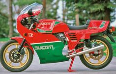 Unlike its previous embodiments, the 1983 Ducati 900MHR has been equipped with an electric start, and its engine has been tweaked for...