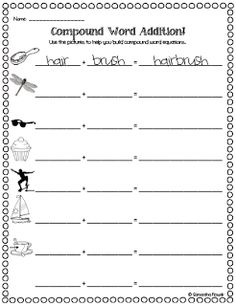 Worksheet Compound Words Worksheets 2nd Grade compound words worksheet second grade delwfg com word activities for 2nd coffemix